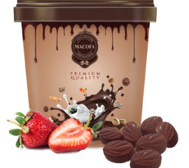 Macofa strawberry-chocolate