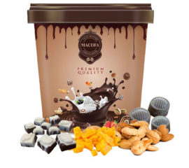 Macofa Fruits & Nut Chocolate