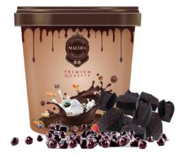 Macofa black-current chocolate
