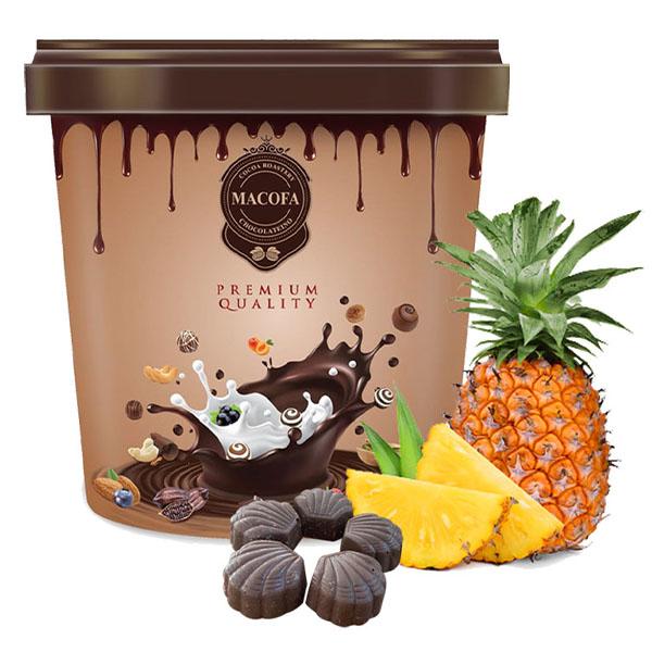 Macofa pinapple chocolate