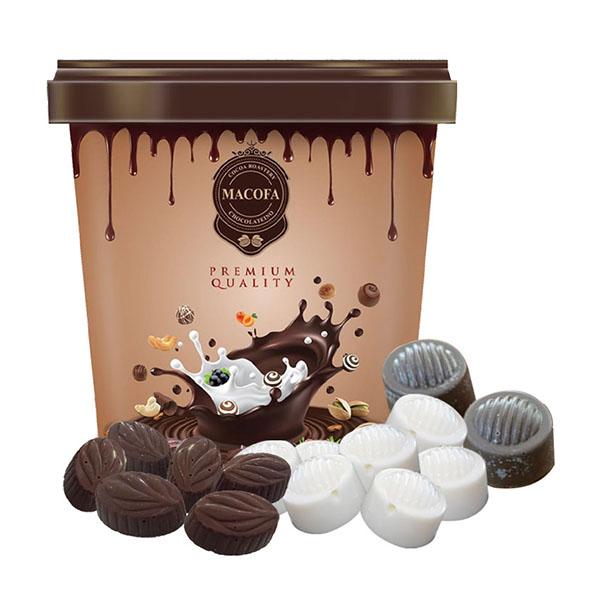 Macofa nut-mix-chocolate