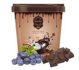 Macofa blueberry Chocolate