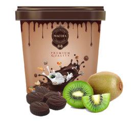 Macofa kiwi Chocolate