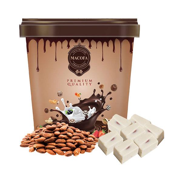 Macofa white-almonds Chocolate