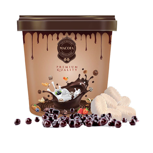 Macofa white-blackcurrant Chocolate