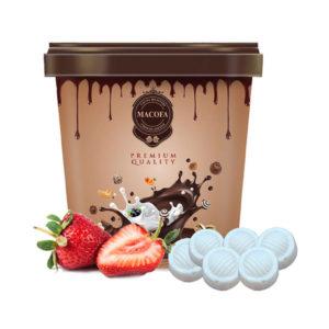 Macofa white-strawberry Chocolate